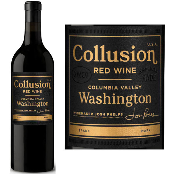 Collusion Columbia Valley Red Wine Washington