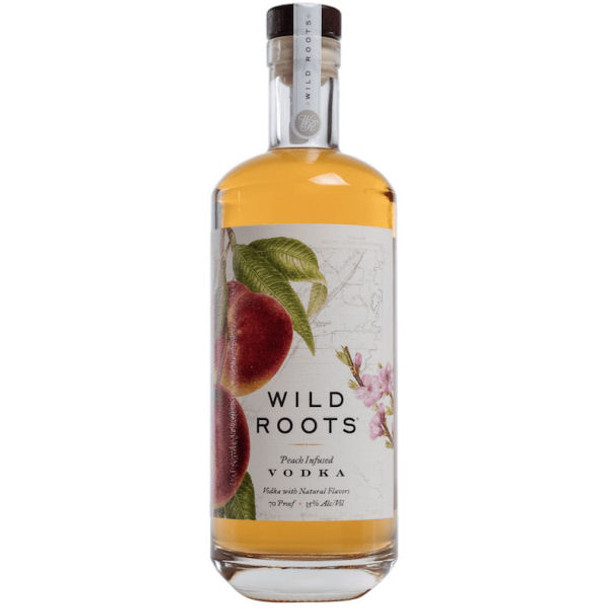 Wild Roots Peach Vodka 750ml