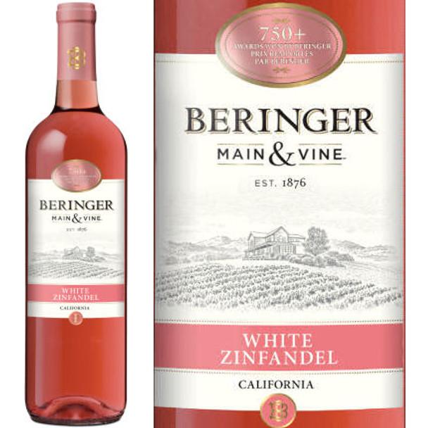 Beringer Main & Vine American White Zinfandel