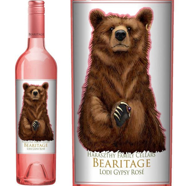 Bearitage by Haraszthy Family Cellars Lodi Gypsy Rose