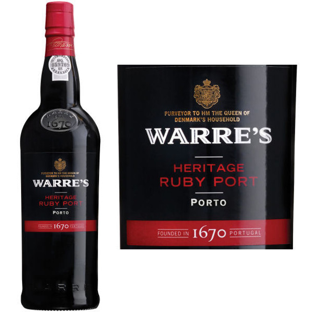 Warre's Heritage Ruby Port