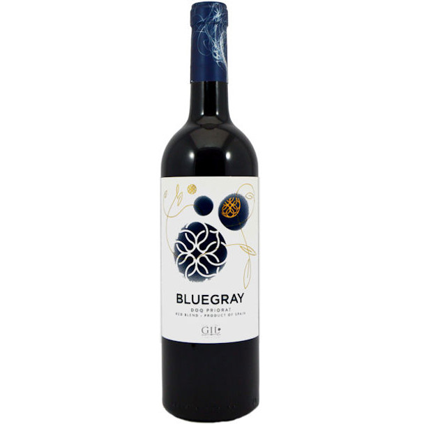 12 Bottle Case Orowines BlueGray Priorat Red 2015 (Spain) Rated 93JS w/ Free Shipping