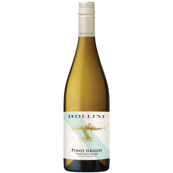 12 Bottle Case Bollini Trentino Pinot Grigio 2017 (Italy) w/ Free Shipping
