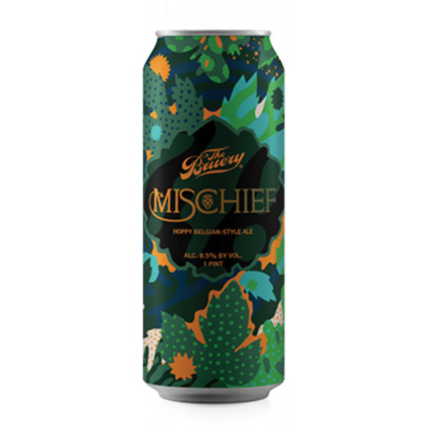The Bruery Mischief Hoppy Belgian-Style Ale 16oz 4 Pack Cans