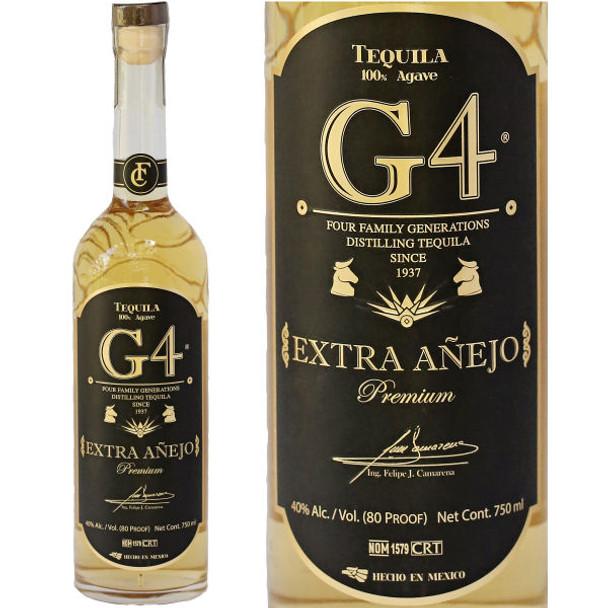 G4 Extra Anejo Tequila 750ml