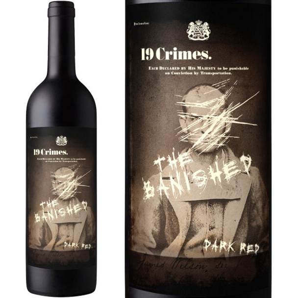 19 Crimes The Banished Dark Red Blend
