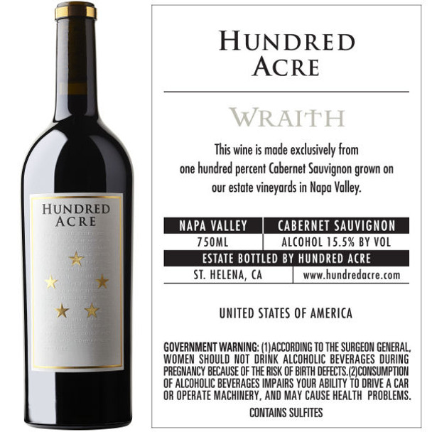 Hundred Acre Wraith Napa Cabernet