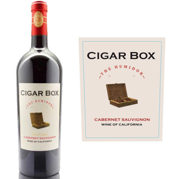 Cigar Box The Humidor California Cabernet