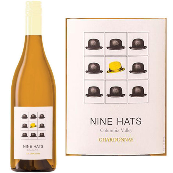 Nine Hats Columbia Valley Chardonnay Washington