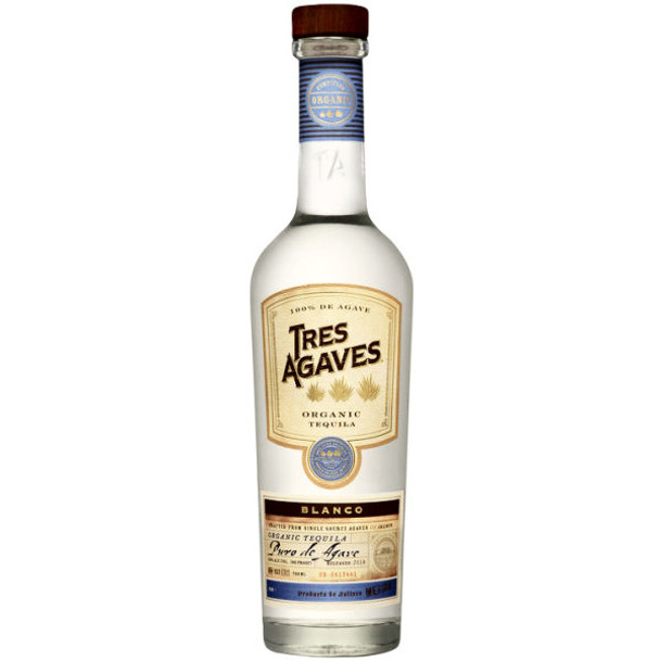 Tres Agave Blanco Organic Tequila 750ml