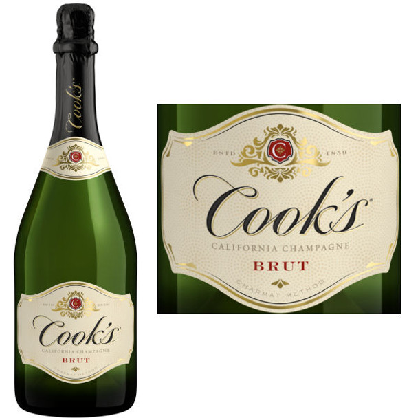 Cook's Brut California Champagne NV