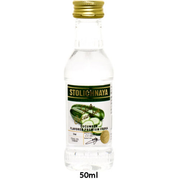 Stolichnaya Cucumber Flavored Russian Vodka