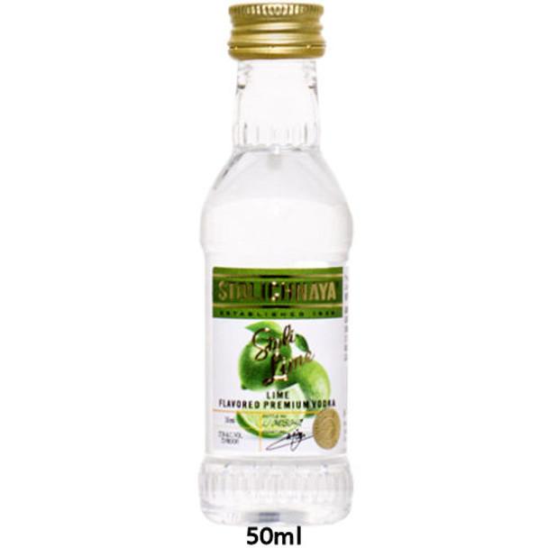 Stolichnaya Lime Flavored Russian Vodka