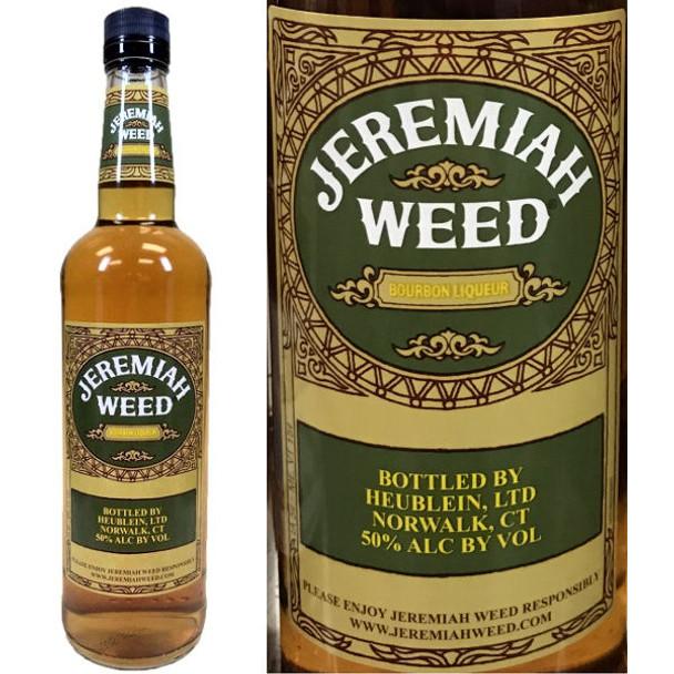 Jeremiah Weed Bourbon Liqueur 750ml