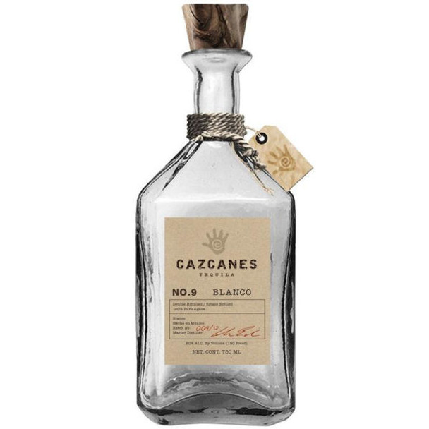 Cazcanes No.9 Blanco Tequila 750ml