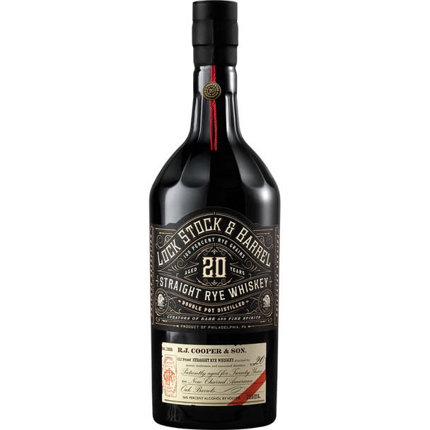Lock Stock & Barrel 18 Year Old Straight Rye Whiskey 750ml