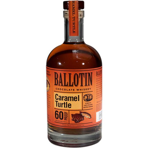 Ballotin Caramel Turtle Chocolate Whiskey 750ml
