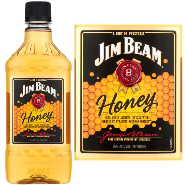 Jim Beam Honey Bourbon Liqueur 750ml