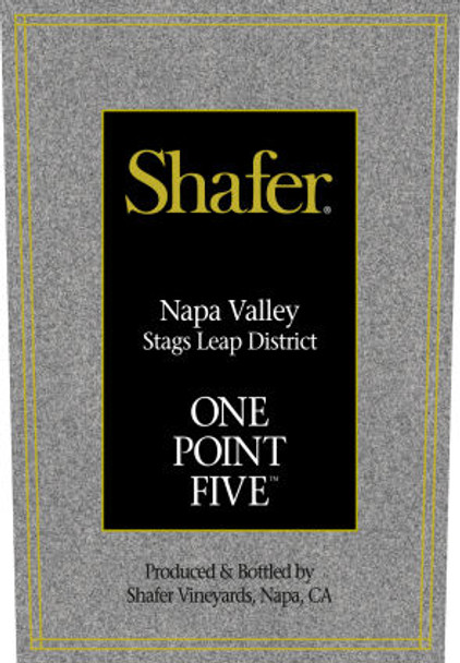 Shafer One Point Five Stags Leap District Cabernet