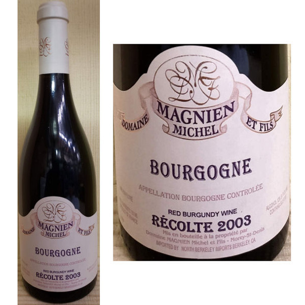 Domaine Magnien Michel Bourgogne Red Burgundy