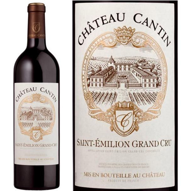 Chateau Cantin St. Emilion Grand Cru