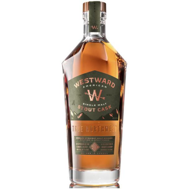 Westward Oregon Stout Cask American Single Malt Whiskey 750ml