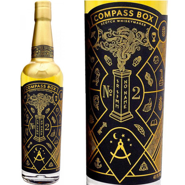 Compass Box No Name No. 2 Blended Malt Scotch Whisky 750ml