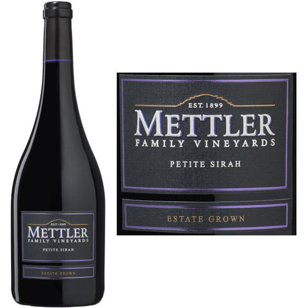 Mettler Family Vineyards Lodi Petite Sirah