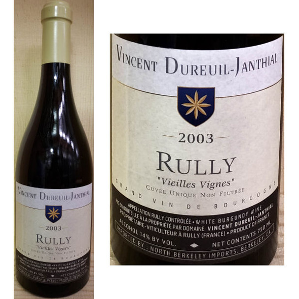 Vincent Dureuil-Janthail Rully White Burgundy