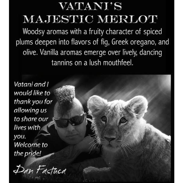 Le Vigne Vatani's Majestic Merlot Paso Robles