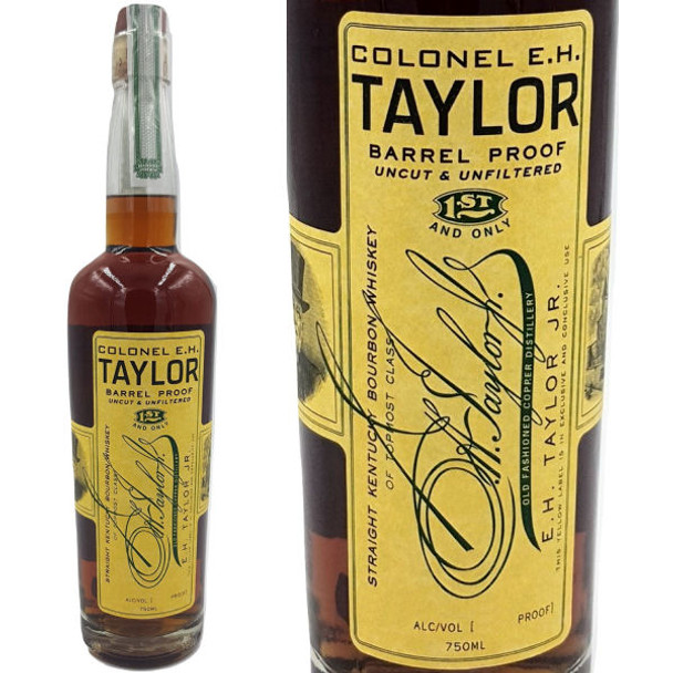 Colonel E.H. Taylor Jr. Barrel Proof Straight Kentucky Bourbon Whiskey 750ml
