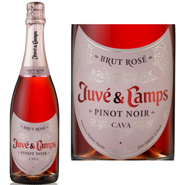 Juve y Camps Brut Pinot Noir Rose NV