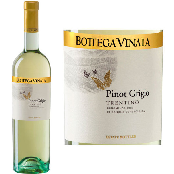 Bottega Vinaia Trentino Pinot Grigio