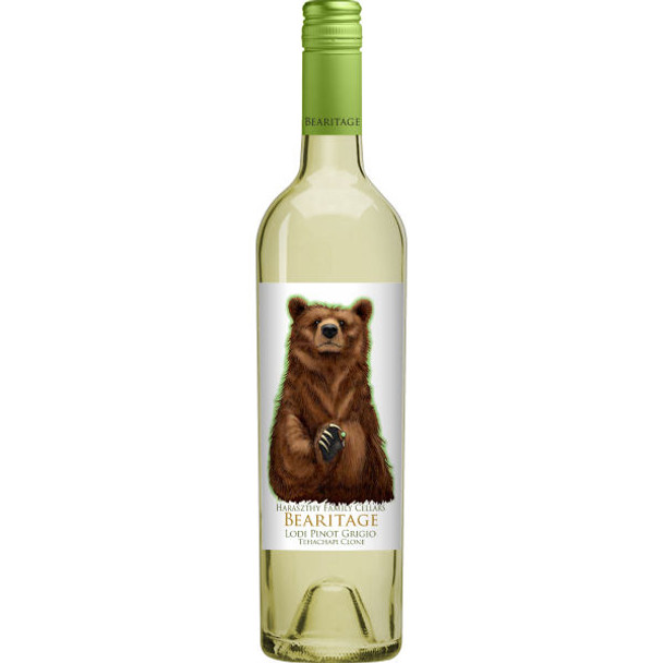 Bearitage by Haraszthy Family Cellars Lodi Pinot Grigio