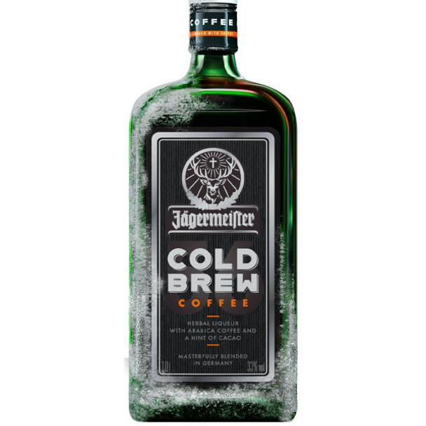 Jagermeister Cold Brew Coffee German Herbal Liqueur 750ml