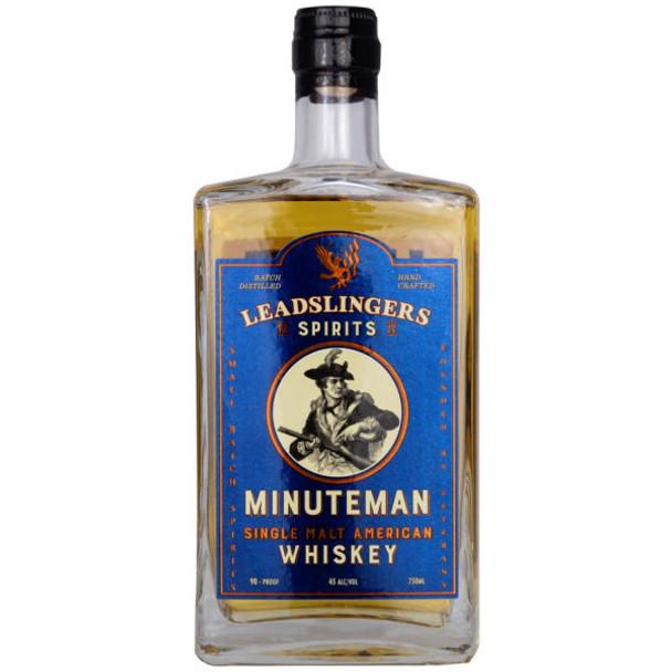 Leadslingers Minuteman Single Malt American Whiskey 750ml