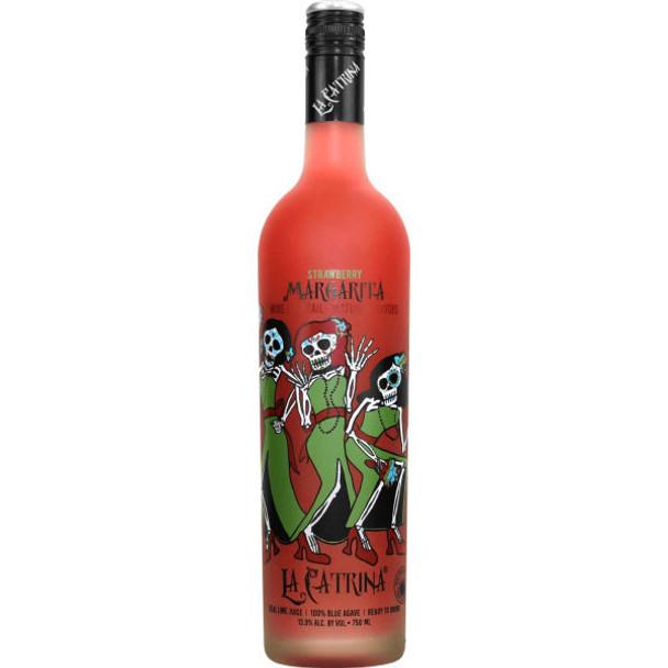 La Catrina Strawberry Margarita Wine Cocktail 750ml