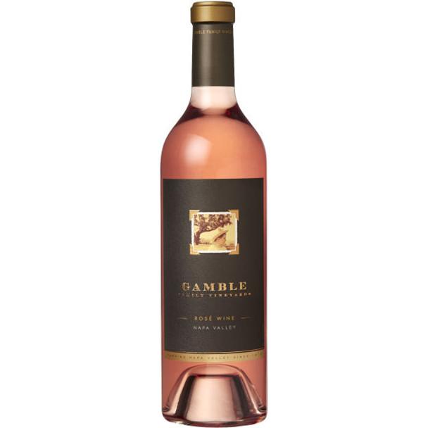 Gamble Family Vineyards Napa Rose