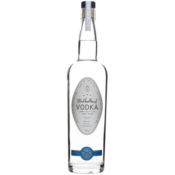 Mulholland Distillery Vodka 750ml855886001302