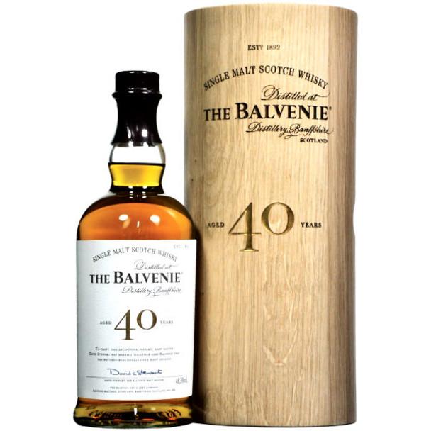 The Balvenie 40 Year Old Speyside Single Malt Scotch 750ml
