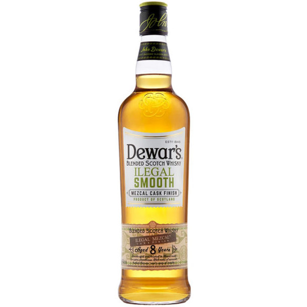 Dewar's Ilegal Smooth Blended Scotch Whisky 750ml