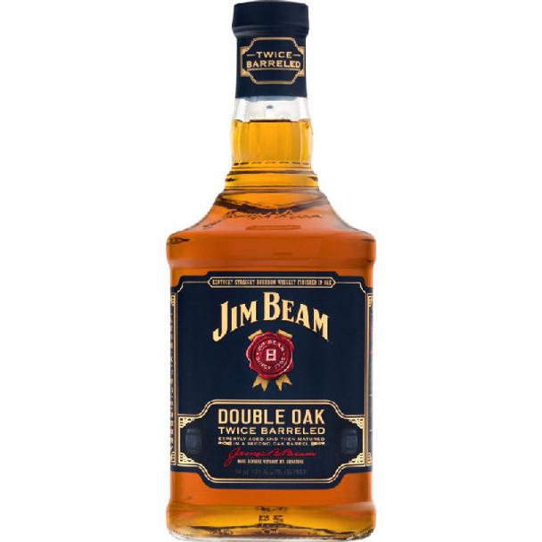 Jim Beam Double Oak Kentucky Straight Bourbon Whiskey 750ml