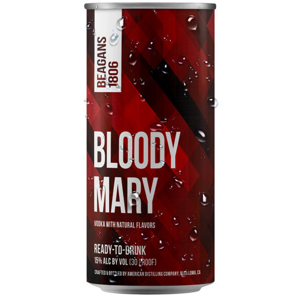 Beagens 1806 Bloody Mary Ready To Drink Cocktail 200ml 4-Pack
