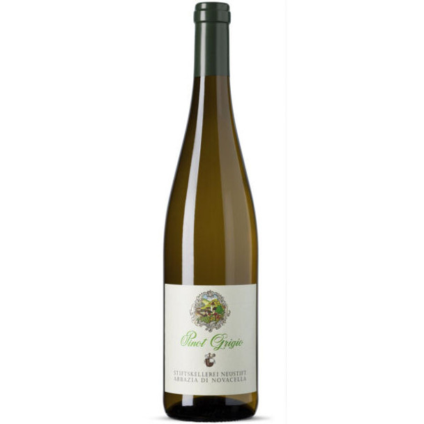 Abbazia di Novacella Pinot Grigio Alto Adige Pale straw yellow in color with an attractive aroma of citrus fruits
