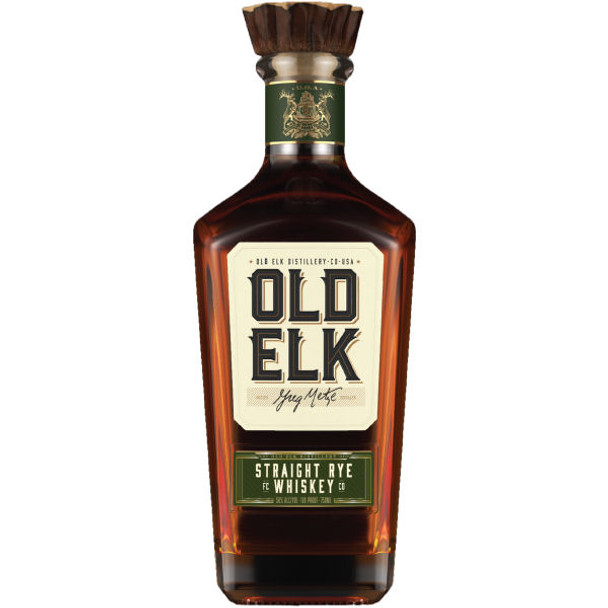 Old Elk Straight Rye Whiskey 750ml