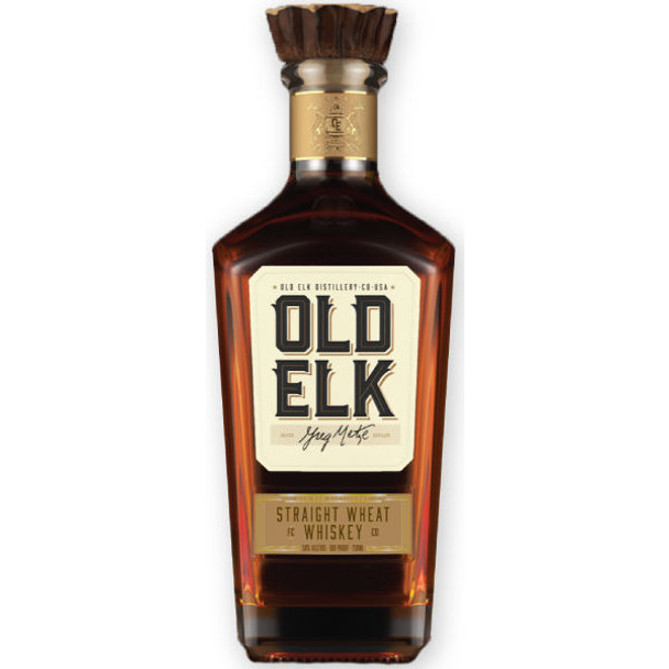Old Elk Straight Wheat Whiskey 750ml