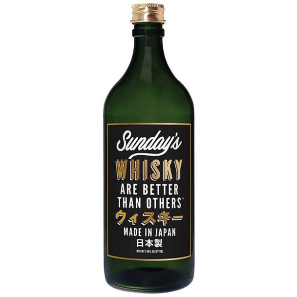 Sunday's Japanese Whisky 750ml