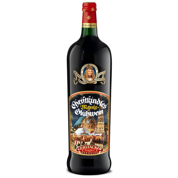 Gerstacker Christkindl Nurnberger Red Gluhwein 1L