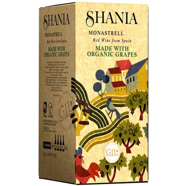 Shania Organic Monastrell Bag in a Box 3L