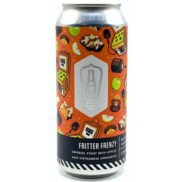 Bottle Logic Fritter Frenzy Imperial Stout w/ Apples & Vietnamese Cinnamon 16oz Can